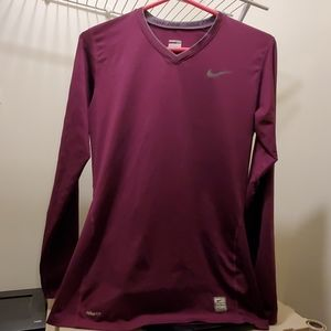 Womens fitted Nike gear long sleeve